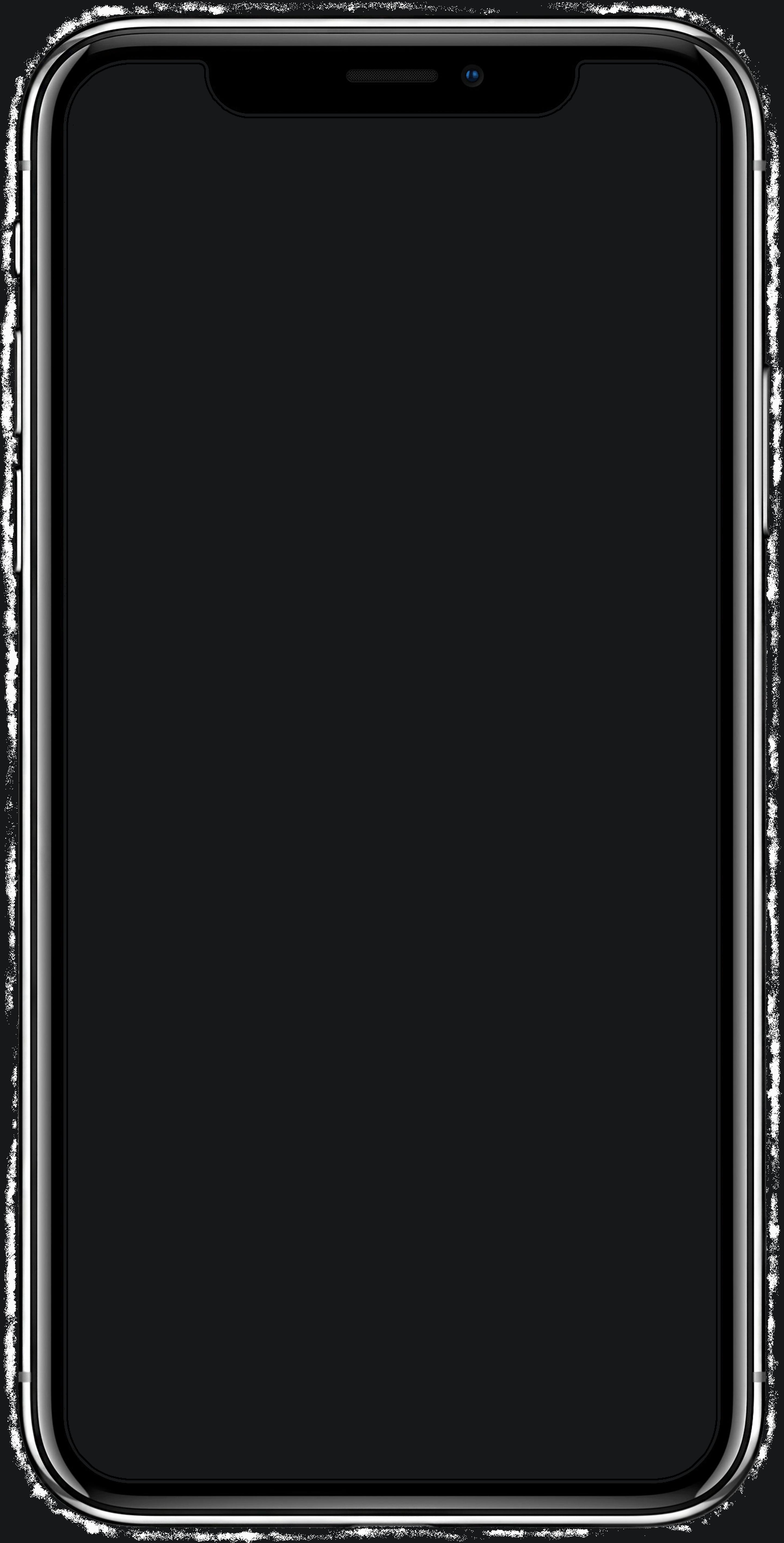 présentation smartphone iphone x détouré neutre